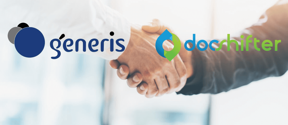 Generis and DocShifter work together for a conversion solution in the new CARA cloud offering