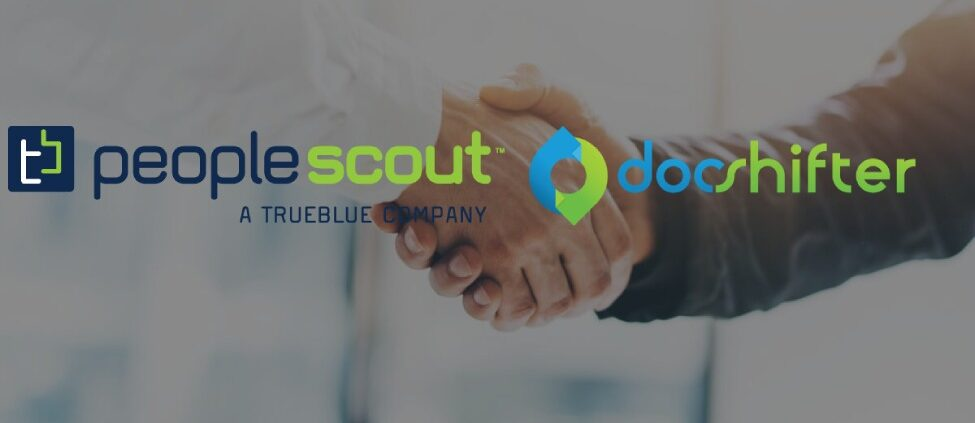 Logo of PeopleScout and DocShifter
