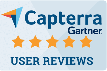 Capterra by Gartner badge for DocShifter document conversion software