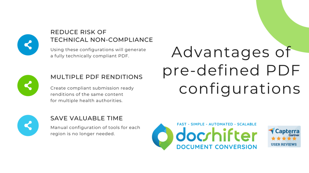 Compliant PDF configurations and the advantages of using them for life sciences & pharma