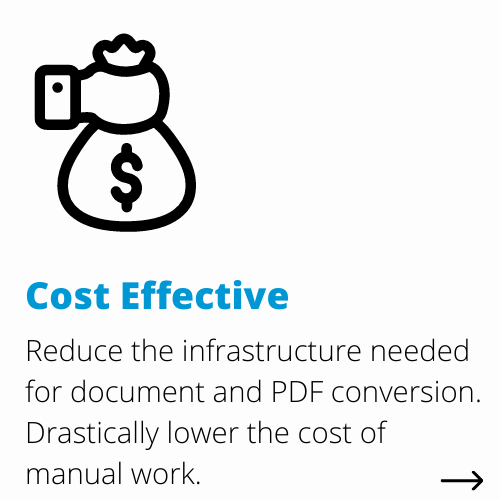 cost effective | DocShifter document conversion software for Life Sciences benefits