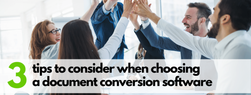 Document conversion software for enterprises: which solution should I choose?   Blog post by DocShifter